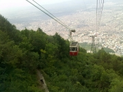 Cable Car in Bursa City